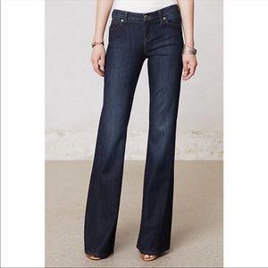 Anthropologie Level 99 Newport Wideleg Jeans S 28